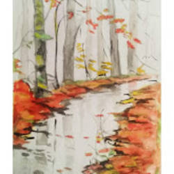 autumn colors, 12 x 16 inch, rajinder koul,12x16inch,thick paper,wildlife paintings,landscape paintings,nature paintings | scenery paintings,paintings for dining room,paintings for living room,paintings for bedroom,paintings for office,paintings for bathroom,paintings for hotel,paintings for kitchen,paintings for dining room,paintings for living room,paintings for bedroom,paintings for office,paintings for bathroom,paintings for hotel,paintings for kitchen,watercolor,paper,GAL01404539685