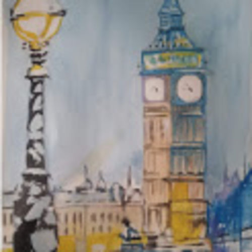 big ben at night, 12 x 16 inch, rajinder koul,12x16inch,thick paper,abstract paintings,cityscape paintings,landscape paintings,still life paintings,nature paintings | scenery paintings,paintings for dining room,paintings for bedroom,paintings for office,paintings for hotel,paintings for kitchen,paintings for hospital,paintings for dining room,paintings for bedroom,paintings for office,paintings for hotel,paintings for kitchen,paintings for hospital,watercolor,paper,GAL01404539701