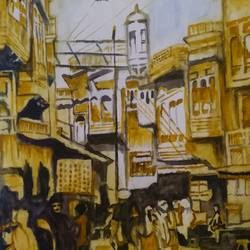 peshawar bazaar, 12 x 16 inch, rajinder koul,12x16inch,thick paper,paintings,abstract paintings,landscape paintings,still life paintings,nature paintings | scenery paintings,photorealism paintings,photorealism,realism paintings,street art,paintings for dining room,paintings for living room,paintings for bedroom,paintings for office,paintings for bathroom,paintings for kids room,paintings for hotel,paintings for kitchen,paintings for school,paintings for hospital,watercolor,paper,GAL01404539750