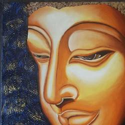 3d buddha face with texture , 20 x 24 inch, simran  asrani ,20x24inch,canvas,paintings,buddha paintings,figurative paintings,modern art paintings,portrait paintings,paintings for dining room,paintings for living room,paintings for bedroom,paintings for office,paintings for kids room,paintings for hotel,paintings for kitchen,paintings for school,paintings for hospital,acrylic color,oil color,GAL02796239778