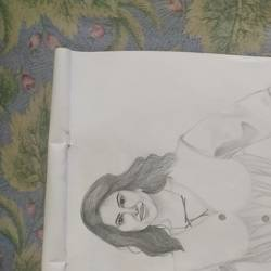 sunny, 11 x 14 inch, vivechana prajapati,11x14inch,drawing paper,drawings,portrait drawings,paintings for dining room,paintings for bedroom,graphite pencil,GAL02815039833