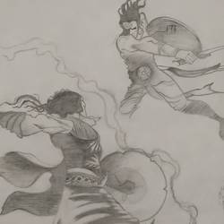 kurukshetra, 11 x 14 inch, vivechana prajapati,11x14inch,thick paper,drawings,portrait drawings,paintings for living room,paintings for bedroom,paintings for bathroom,paintings for kids room,paintings for hotel,paintings for school,graphite pencil,GAL02815039847