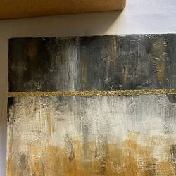 gold bomb , 12 x 12 inch, rishika shah,12x12inch,canvas,paintings,abstract paintings,paintings for living room,paintings for bedroom,paintings for bathroom,paintings for hotel,acrylic color,GAL02808639854