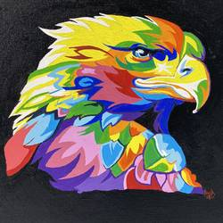 multi colour eagle, 18 x 24 inch, anshul  agrawal ,18x24inch,canvas,wildlife paintings,paintings for dining room,paintings for living room,paintings for bedroom,paintings for office,paintings for kids room,paintings for hotel,paintings for school,paintings for hospital,paintings for dining room,paintings for living room,paintings for bedroom,paintings for office,paintings for kids room,paintings for hotel,paintings for school,paintings for hospital,acrylic color,GAL01997239856
