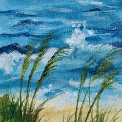 beach painting, 4 x 12 inch, simran solkar,4x12inch,canvas,paintings,landscape paintings,nature paintings | scenery paintings,paintings for dining room,paintings for living room,paintings for bedroom,paintings for office,paintings for dining room,paintings for living room,paintings for bedroom,paintings for office,acrylic color,GAL02750639879