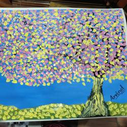 3d tree, 18 x 15 inch, arvind kumar gupta,18x15inch,drawing paper,paintings,abstract paintings,nature paintings | scenery paintings,abstract expressionism paintings,realistic paintings,paintings for dining room,paintings for living room,paintings for bedroom,paintings for office,paintings for kids room,paintings for hotel,paintings for kitchen,paintings for school,paintings for hospital,acrylic color,paper,GAL02596639957