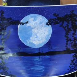 full moon , 30 x 22 inch, arvind kumar gupta,30x22inch,drawing paper,paintings,abstract paintings,nature paintings | scenery paintings,paintings for dining room,paintings for living room,paintings for bedroom,paintings for office,paintings for kids room,paintings for hotel,paintings for kitchen,paintings for school,paintings for hospital,acrylic color,paper,GAL02596639959