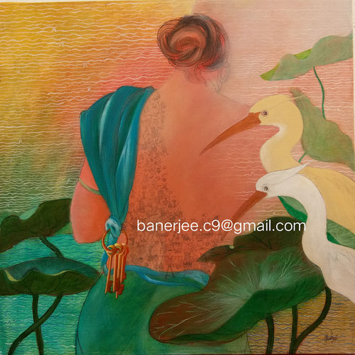 she 3, 2 x 2 inch, chandrani banerjee,2x2inch,canvas,paintings,figurative paintings,conceptual paintings,expressionism paintings,contemporary paintings,paintings for dining room,paintings for living room,paintings for bedroom,paintings for hotel,paintings for kitchen,acrylic color,GAL02832039983