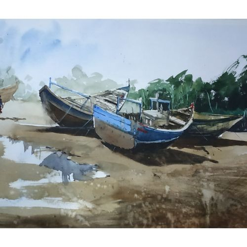 outside river, 22 x 13 inch, soyli saha,22x13inch,handmade paper,abstract paintings,landscape paintings,nature paintings | scenery paintings,paintings for dining room,paintings for living room,paintings for bedroom,paintings for office,paintings for bathroom,paintings for kids room,paintings for hotel,paintings for kitchen,paintings for school,paintings for hospital,paintings for dining room,paintings for living room,paintings for bedroom,paintings for office,paintings for bathroom,paintings for kids room,paintings for hotel,paintings for kitchen,paintings for school,paintings for hospital,watercolor,GAL0606539990