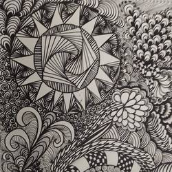 zentangle , 12 x 16 inch, deepika manohar,12x16inch,cartridge paper,paintings for living room,paintings for office,paintings for hotel,paintings for school,paintings for hospital,abstract drawings,abstract expressionism drawings,modern drawings,paintings for living room,paintings for office,paintings for hotel,paintings for school,paintings for hospital,pen color,paper,GAL02791040065