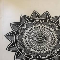mandala, 12 x 16 inch, ravina jain,12x16inch,thick paper,drawings,fine art drawings,paintings for dining room,paintings for living room,paintings for bedroom,paintings for hotel,paintings for school,paintings for hospital,pen color,GAL02833640129