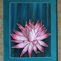 kamal, 12 x 16 inch, jigisha  dwivedi,flower paintings,paintings for living room,canvas board,acrylic color,12x16inch,GAL08764014