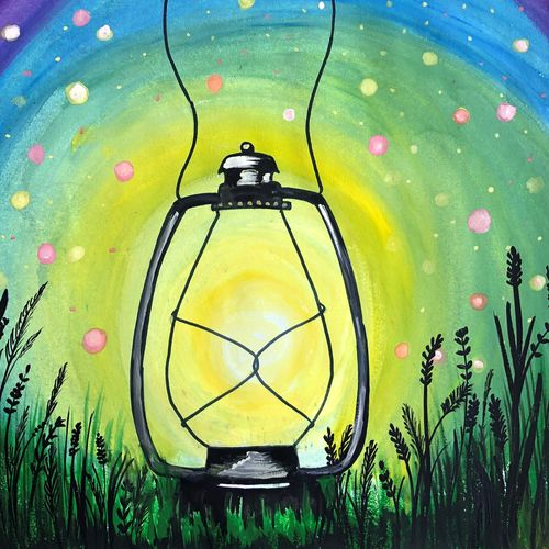 the lantern illuminating the whole world , 11 x 14 inch, divyanshi singhal,11x14inch,paper,conceptual paintings,nature paintings | scenery paintings,acrylic color,mixed media,poster color,GAL02048340169