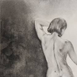 shapes, 11 x 14 inch, rachel antony,11x14inch,drawing paper,figurative drawings,charcoal,graphite pencil,GAL02842440190