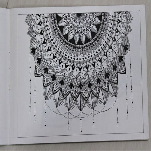 mandala drawing, 8 x 11 inch, manisha g,8x11inch,drawing paper,drawings,folk drawings,paintings for dining room,paintings for living room,paintings for office,paintings for hospital,ink color,paper,GAL02842040204