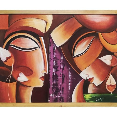 manu and ananti(known as first two humans created by lord bhrahma), 24 x 18 inch, poonam agarwal agarwal,24x18inch,canvas,abstract paintings,religious paintings,paintings for dining room,paintings for living room,paintings for bedroom,paintings for office,paintings for bathroom,paintings for kids room,paintings for hotel,paintings for kitchen,paintings for school,paintings for hospital,paintings for dining room,paintings for living room,paintings for bedroom,paintings for office,paintings for bathroom,paintings for kids room,paintings for hotel,paintings for kitchen,paintings for school,paintings for hospital,acrylic color,GAL02098140242
