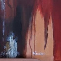crust of earth, 24 x 30 inch, varsha sirsi,24x30inch,canvas board,abstract paintings,acrylic color,GAL02853340264