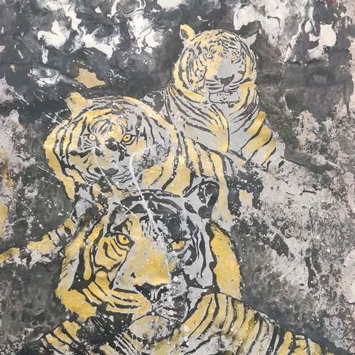 the pride, 24 x 34 inch, ankita  goenka ,24x34inch,canvas,abstract paintings,wildlife paintings,paintings for dining room,paintings for living room,paintings for bedroom,paintings for office,paintings for bathroom,paintings for hotel,paintings for school,paintings for hospital,paintings for dining room,paintings for living room,paintings for bedroom,paintings for office,paintings for bathroom,paintings for hotel,paintings for school,paintings for hospital,acrylic color,enamel color,GAL0297640305