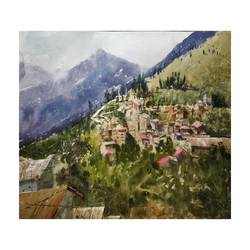 untitled, 22 x 14 inch, soyli saha,22x14inch,thick paper,paintings,paintings for dining room,paintings for living room,paintings for office,paintings for kids room,paintings for hotel,paintings for school,paintings for hospital,watercolor,GAL0606540377