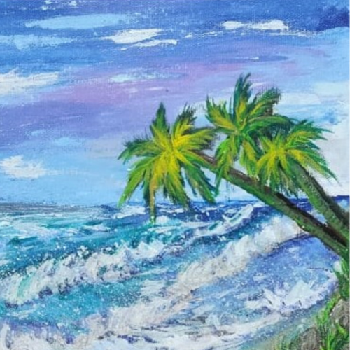 seascape beach painting 1, 12 x 10 inch, sameeulla shaik,12x10inch,canvas,paintings,landscape paintings,paintings for dining room,paintings for living room,paintings for bedroom,paintings for office,paintings for kids room,paintings for school,paintings for dining room,paintings for living room,paintings for bedroom,paintings for office,paintings for kids room,paintings for school,acrylic color,GAL02859640392