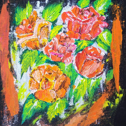 multicolored roses abstract painting, 10 x 12 inch, sameeulla shaik,10x12inch,canvas,abstract paintings,flower paintings,paintings for dining room,paintings for living room,paintings for bedroom,paintings for office,paintings for kids room,paintings for hotel,paintings for school,paintings for hospital,paintings for dining room,paintings for living room,paintings for bedroom,paintings for office,paintings for kids room,paintings for hotel,paintings for school,paintings for hospital,acrylic color,GAL02859640402