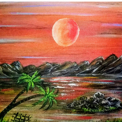 beautiful sunset 4, 12 x 10 inch, sameeulla shaik,12x10inch,canvas,landscape paintings,nature paintings | scenery paintings,paintings for dining room,paintings for living room,paintings for bedroom,paintings for office,paintings for kids room,paintings for hotel,paintings for school,paintings for dining room,paintings for living room,paintings for bedroom,paintings for office,paintings for kids room,paintings for hotel,paintings for school,acrylic color,GAL02859640409