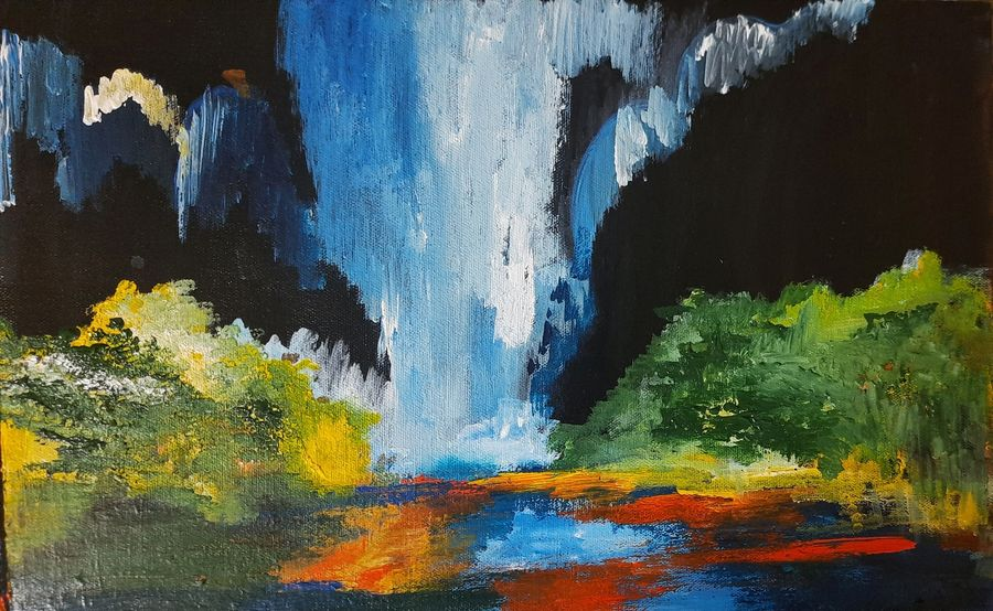 Buy Landscape Painting Painting At Lowest Price By Home Decor Ideas Taneja