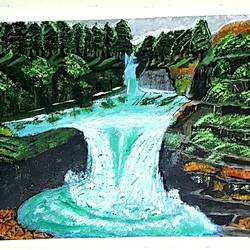 waterfall aherbal sringar kashmir, 24 x 18 inch, khurshid bhat,24x18inch,canvas,landscape paintings,nature paintings | scenery paintings,phad painting,paintings for dining room,paintings for living room,paintings for bedroom,paintings for office,paintings for kids room,paintings for hotel,paintings for kitchen,paintings for school,paintings for hospital,paintings for dining room,paintings for living room,paintings for bedroom,paintings for office,paintings for kids room,paintings for hotel,paintings for kitchen,paintings for school,paintings for hospital,acrylic color,GAL02840140420