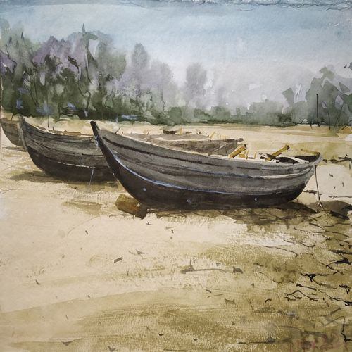 the fishing boat, 11 x 9 inch, soyli saha,11x9inch,cartridge paper,realistic paintings,paintings for dining room,paintings for living room,paintings for bedroom,paintings for office,paintings for bathroom,paintings for kids room,paintings for hotel,paintings for kitchen,paintings for school,paintings for hospital,paintings for dining room,paintings for living room,paintings for bedroom,paintings for office,paintings for bathroom,paintings for kids room,paintings for hotel,paintings for kitchen,paintings for school,paintings for hospital,watercolor,GAL0606540429