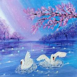 dreamy lake painting, 10 x 12 inch, veena nandavaram,10x12inch,canvas board,paintings,flower paintings,landscape paintings,nature paintings | scenery paintings,art deco paintings,paintings for dining room,paintings for living room,paintings for bedroom,paintings for office,paintings for kids room,paintings for hotel,paintings for kitchen,paintings for school,paintings for hospital,paintings for dining room,paintings for living room,paintings for bedroom,paintings for office,paintings for kids room,paintings for hotel,paintings for kitchen,paintings for school,paintings for hospital,acrylic color,GAL02687040452