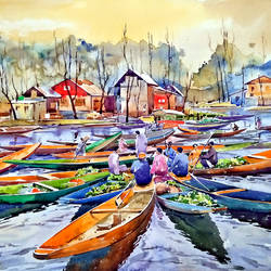 kashmir, 22 x 15 inch, raji p,22x15inch,canson paper,paintings,abstract paintings,figurative paintings,landscape paintings,still life paintings,nature paintings | scenery paintings,contemporary paintings,paintings for dining room,paintings for bedroom,paintings for office,paintings for bathroom,paintings for kids room,paintings for hotel,paintings for kitchen,paintings for school,paintings for hospital,watercolor,GAL059040470