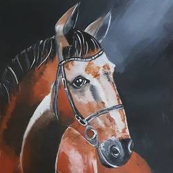 horse, 11 x 16 inch, kamakshi kannan,11x16inch,paper,paintings,animal paintings,paintings for kids room,poster color,GAL02860640556
