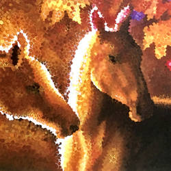 abstract horse acrylic on canvas, 36 x 24 inch, augustine devotta,36x24inch,canvas,paintings,horse paintings,paintings for living room,paintings for office,paintings for hotel,acrylic color,GAL0695440638