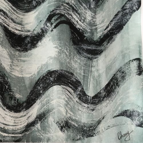 thought waves, 17 x 12 inch, rohini mukherjee,17x12inch,drawing paper,paintings,abstract paintings,modern art paintings,abstract expressionism paintings,paintings for dining room,paintings for living room,paintings for bedroom,paintings for office,paintings for kids room,paintings for hotel,acrylic color,poster color,watercolor,GAL02541740649