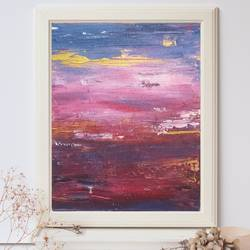 large wall art,original painting on canvas, sky scape painting, landscape painting, pink purple abstract painting,abstract painting, 24 x 36 inch, nidhi patankar,24x36inch,canvas,paintings,abstract paintings,landscape paintings,contemporary paintings,paintings for dining room,paintings for living room,paintings for bedroom,paintings for office,paintings for bathroom,paintings for hotel,paintings for hospital,acrylic color,GAL02878140657