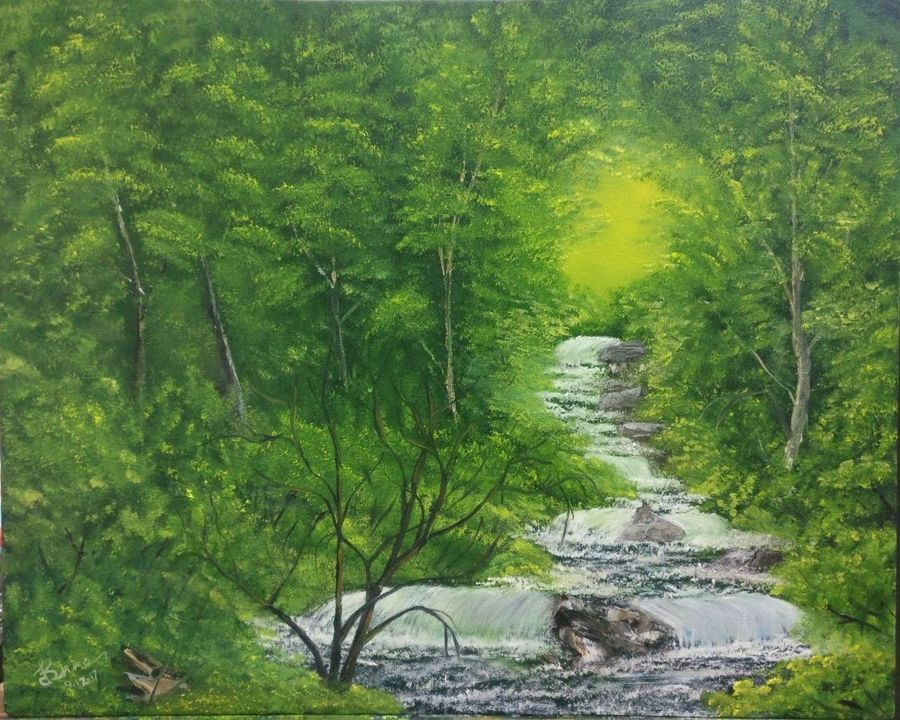 Green forest 7