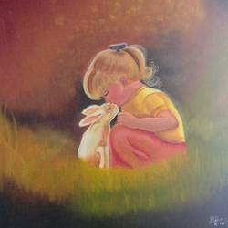 adorable baby, 12 x 12 inch, krishna ghosh,12x12inch,canvas,paintings,conceptual paintings,contemporary paintings,love paintings,baby paintings,kids paintings,oil color,GAL02828840728