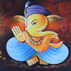 lord ganesha, 36 x 24 inch, pramod  kumar,36x24inch,canvas,religious paintings,ganesha paintings | lord ganesh paintings,realistic paintings,paintings for dining room,paintings for living room,paintings for bedroom,paintings for office,paintings for hotel,paintings for kitchen,paintings for school,paintings for hospital,paintings for dining room,paintings for living room,paintings for bedroom,paintings for office,paintings for hotel,paintings for kitchen,paintings for school,paintings for hospital,acrylic color,GAL02078840743