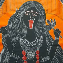 goddess kali part 1, 24 x 36 inch, lakshmi menon,24x36inch,canvas,folk art paintings,modern art paintings,religious paintings,contemporary paintings,madhubani paintings | madhubani art,paintings for dining room,paintings for living room,paintings for office,paintings for hotel,paintings for hospital,paintings for dining room,paintings for living room,paintings for office,paintings for hotel,paintings for hospital,acrylic color,natural color,pen color,ball point pen,GAL02888740817