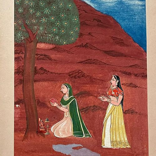 religious painting, 15 x 20 inch, astha khanna,15x20inch,thick paper,folk art paintings,religious paintings,nature paintings | scenery paintings,paintings for dining room,paintings for living room,paintings for office,paintings for hotel,paintings for dining room,paintings for living room,paintings for office,paintings for hotel,watercolor,paper,GAL02889740841