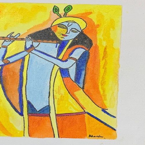 lord krishna, 10 x 8 inch, adarsh daga,10x8inch,canvas,paintings,abstract paintings,religious paintings,radha krishna paintings,paintings for dining room,paintings for living room,paintings for bedroom,paintings for office,paintings for kids room,paintings for hotel,paintings for kitchen,paintings for school,paintings for hospital,paintings for dining room,paintings for living room,paintings for bedroom,paintings for office,paintings for kids room,paintings for hotel,paintings for kitchen,paintings for school,paintings for hospital,acrylic color,GAL02891540871