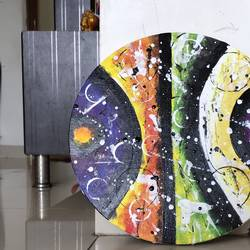 modern art, 12 x 12 inch, radha kannan,12x12inch,canvas,paintings,abstract paintings,modern art paintings,contemporary paintings,paintings for dining room,paintings for living room,paintings for office,paintings for hotel,acrylic color,GAL02069740925