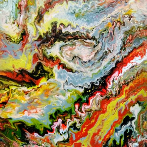 volaconit crust, 16 x 20 inch, aarthy devi,16x20inch,canvas,paintings,abstract paintings,contemporary paintings,paintings for dining room,paintings for living room,paintings for bedroom,paintings for office,paintings for bathroom,paintings for kids room,paintings for hotel,acrylic color,GAL02890940930