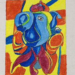ganesh ji, 6 x 5 inch, adarsh daga,6x5inch,canvas,paintings,abstract paintings,modern art paintings,conceptual paintings,religious paintings,expressionism paintings,impressionist paintings,ganesha paintings | lord ganesh paintings,contemporary paintings,realistic paintings,paintings for dining room,paintings for living room,paintings for bedroom,paintings for office,paintings for kids room,paintings for hotel,paintings for kitchen,paintings for school,paintings for hospital,acrylic color,GAL02891540937