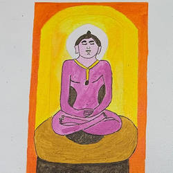 mahavir ji, 9 x 5 inch, adarsh daga,9x5inch,canvas,paintings,abstract paintings,modern art paintings,conceptual paintings,religious paintings,still life paintings,expressionism paintings,realism paintings,realistic paintings,paintings for dining room,paintings for living room,paintings for bedroom,paintings for office,paintings for kids room,paintings for hotel,paintings for kitchen,paintings for school,paintings for hospital,paintings for dining room,paintings for living room,paintings for bedroom,paintings for office,paintings for kids room,paintings for hotel,paintings for kitchen,paintings for school,paintings for hospital,acrylic color,GAL02891540938