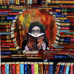 booklet original canvas painting, 12 x 14 inch, swati sharma,12x14inch,canvas,paintings,modern art paintings,conceptual paintings,abstract expressionism paintings,illustration paintings,impressionist paintings,realistic paintings,paintings for dining room,paintings for living room,paintings for bedroom,paintings for office,paintings for kids room,paintings for hotel,paintings for kitchen,paintings for school,paintings for hospital,acrylic color,GAL02535940955