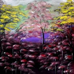nature3, 11 x 13 inch,  nil rabha,11x13inch,canvas,paintings,landscape paintings,paintings for living room,acrylic color,GAL02231240962