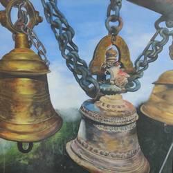 bells, 40 x 30 inch, manjoo kiraan,40x30inch,canvas,paintings,portrait paintings,paintings for living room,paintings for bedroom,paintings for office,paintings for kids room,paintings for hotel,paintings for school,paintings for hospital,oil color,GAL02884640968
