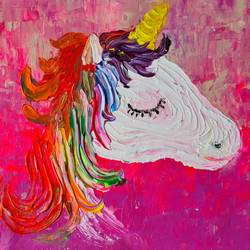 unicorn, 14 x 11 inch, esther sandhya a,14x11inch,canvas,paintings,abstract paintings,modern art paintings,art deco paintings,contemporary paintings,paintings for kids room,paintings for hotel,paintings for school,paintings for hospital,paintings for kids room,paintings for hotel,paintings for school,paintings for hospital,acrylic color,GAL0166340973