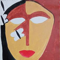 figurative painting, 12 x 16 inch, debina  varghese,12x16inch,canvas,paintings,abstract paintings,paintings for living room,paintings for hotel,acrylic color,GAL02896840999